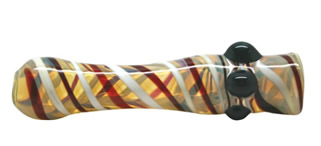Glass Taster Pipe chillum